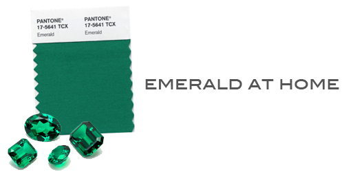 emerald at home